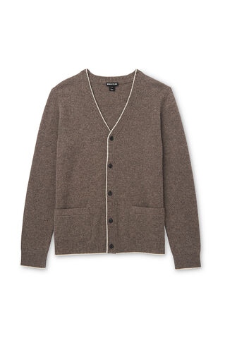 Textured Cardigan, in Plum on Whistles