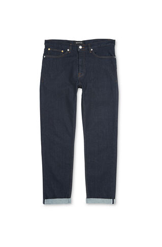 Tapered-Fit Selvedge Jeans, in Denim on Whistles