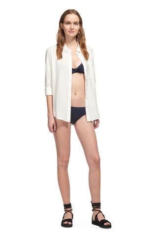 Carolina Bikini Bottom, in Navy on Whistles
