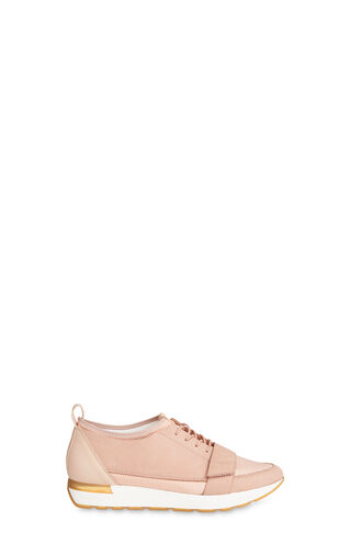 Jaspar Lace Up Runner, in NUDE on Whistles