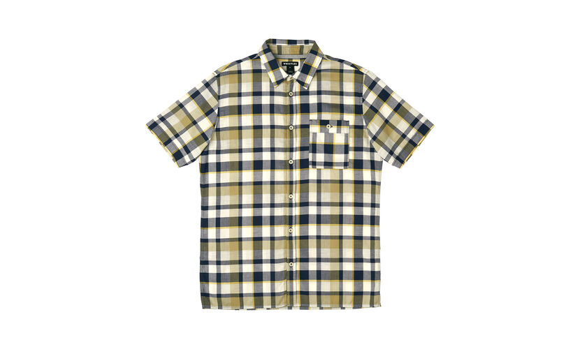 Madras Check Shirt, in Yellow/Multi on Whistles