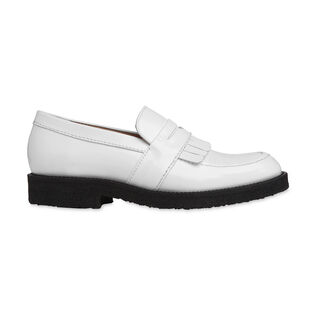 Kalo Fringe Loafer, in White on Whistles