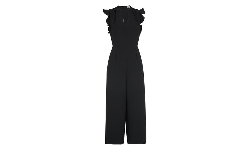 Lavene Jumpsuit, in Black on Whistles