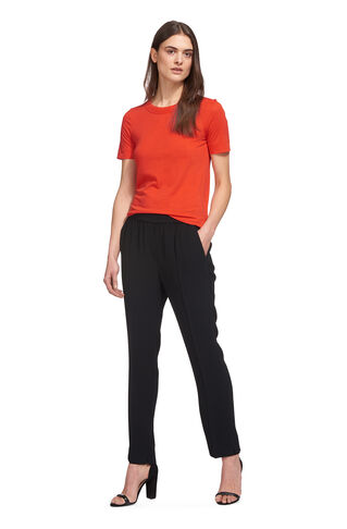 Rosa Double Trim T-shirt, in Red on Whistles