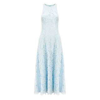 Cora Lace Dress, in Pale Blue on Whistles