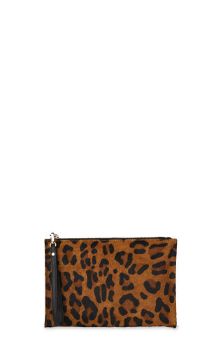 Leopard Wristlet, in Leopard Print on Whistles