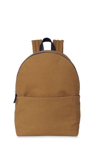 Waxed Canvas Rucksack, in Brown on Whistles