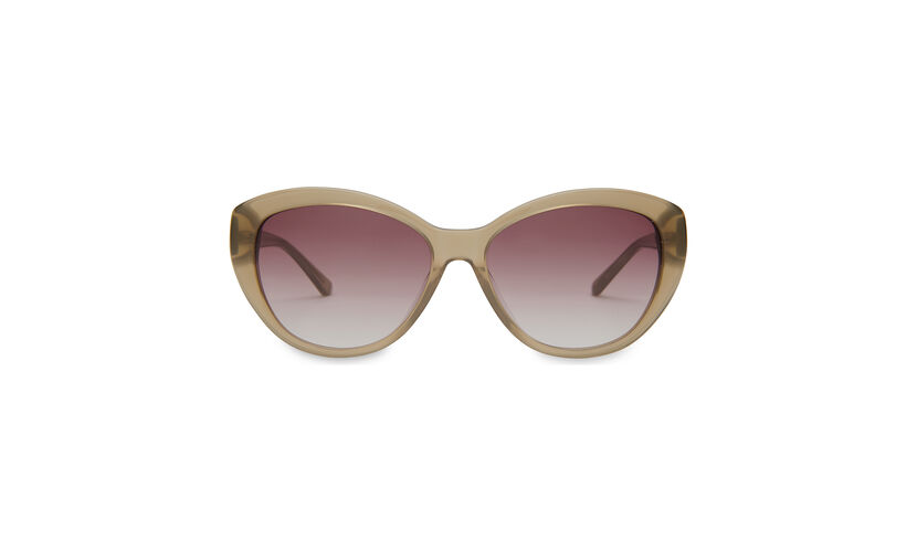 Olivia Catseye Sunglasses, in Olive on Whistles