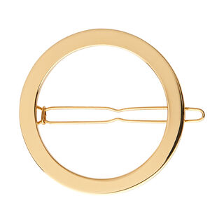 Circular Hair Clip, in Gold on Whistles