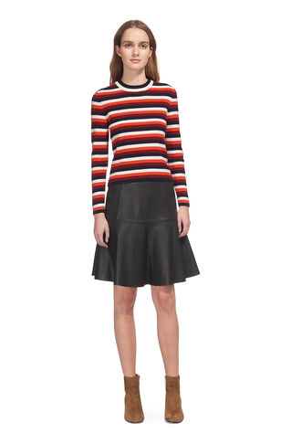 Madison Multi Stripe Knit, in Multicolour on Whistles