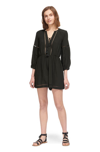 Mimi Ladder Detail Playsuit, in Olive on Whistles