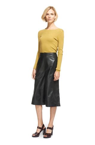 Leather Culotte, in Black on Whistles