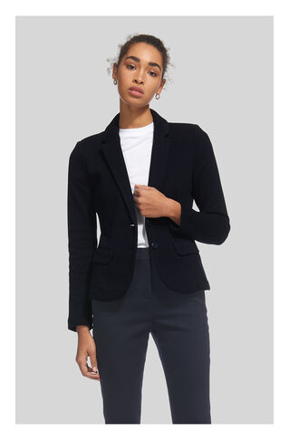 Slim Jersey Jacket, in Navy on Whistles