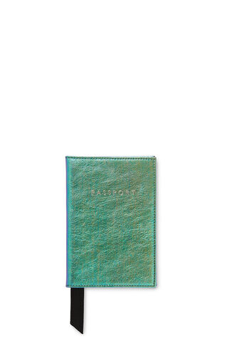 Mermaid Passport Holder, in Metallic/Multi on Whistles