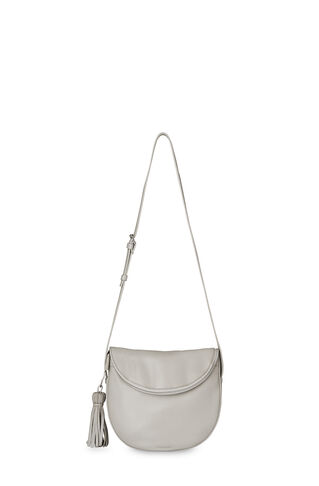 Clifton Slouchy Tassel Zip Bag, in Grey on Whistles