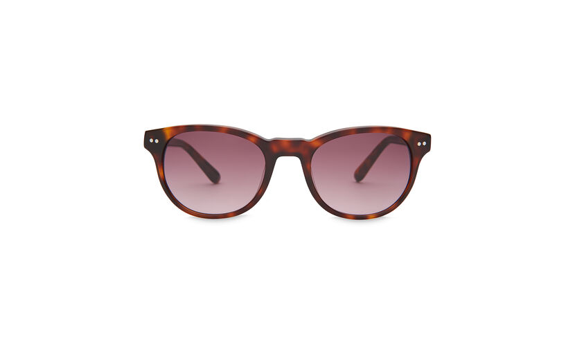 Faye D-Frame Sunglasses, in Brown/Multi on Whistles