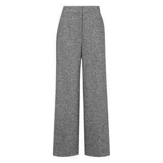 Brennan Tweed Textured Trouser, in Grey on Whistles