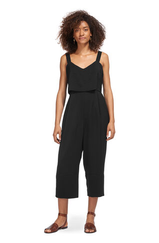Lucy Strappy Jumpsuit, in Black on Whistles