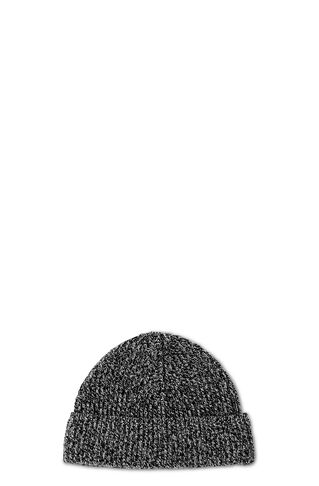 Knit Beanie, in Black and White on Whistles