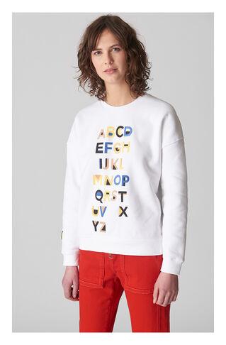 Alphabet Sweatshirt, in Multicolour on Whistles