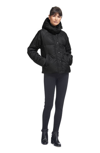Iva Casual Puffer Jacket, in Black on Whistles