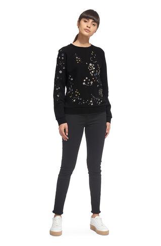 Constellation Sweatshirt, in Black on Whistles