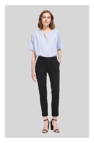 Sadie Slim Leg Trouser, in Black on Whistles