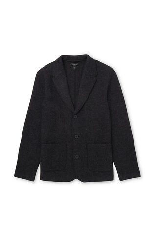Knitted Blazer, in Grey on Whistles