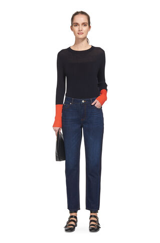 Side Panel Boyfriend Jean, in Denim on Whistles