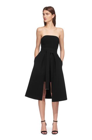 Oona Layered Dress, in Black on Whistles