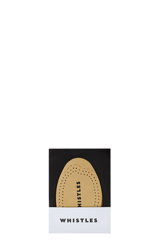 Leather Half Insole, in Neutral on Whistles