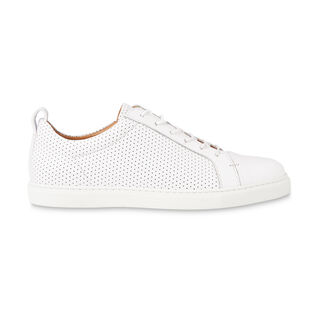 Kenley Perforated Trainer, in White on Whistles