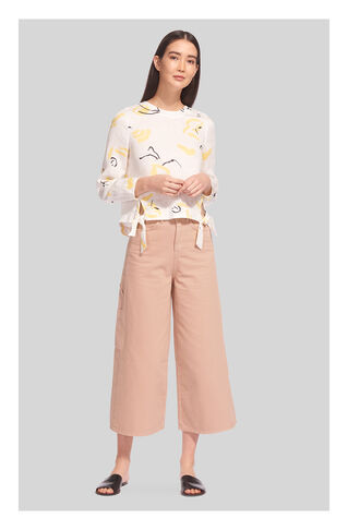 Denim Cargo Pant, in Pale Pink on Whistles