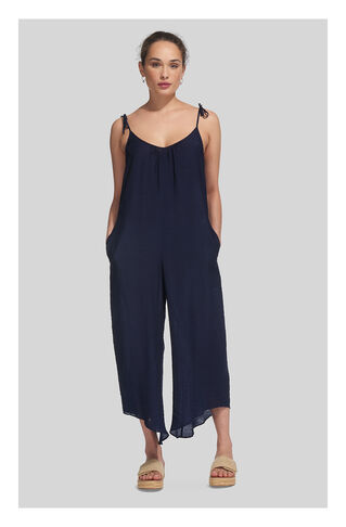 Vina Relaxed Jumpsuit, in Navy on Whistles