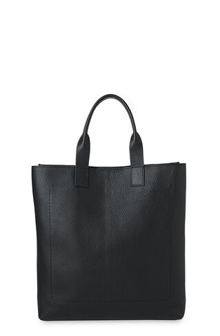 Leather Tote Bag, in Black on Whistles