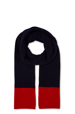 Colour Block Scarf, in Blue/Multi on Whistles