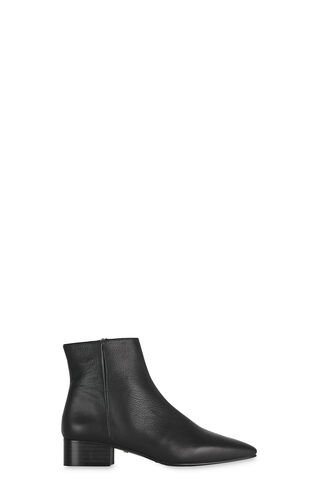 Berwick Soft Leather Boot, in Black on Whistles