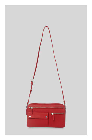 Albion Zip Pocket Bag, in Red on Whistles