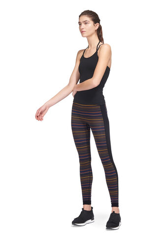Flash Stripe Workout Leggings, in Multicolour on Whistles