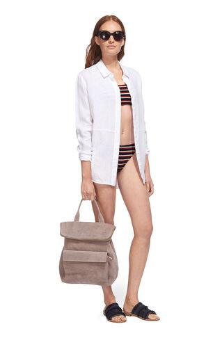 Stripe Bikini Pant, in Multicolour on Whistles