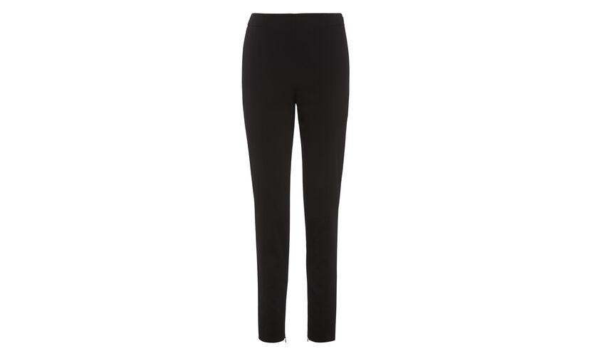 Ava Slim Leg Trouser, in Black on Whistles