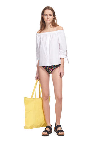 Pansy Print Bikini Pant, in Multicolour on Whistles