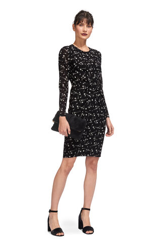 Phoebe Constellation Bodycon, in Black and White on Whistles