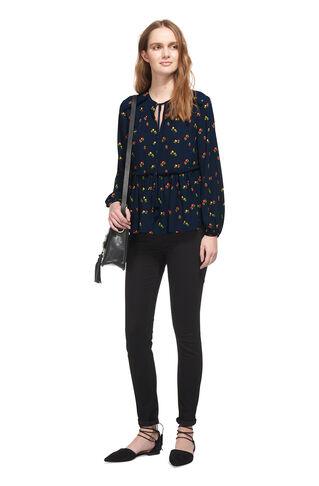 Rachel Isla Print Top, in Blue/Multi on Whistles