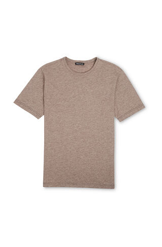 Everyday Regular Fit T-Shirt, in Beige on Whistles