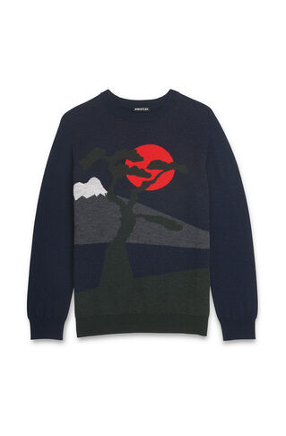 Landscape Sweater, in Multicolour on Whistles