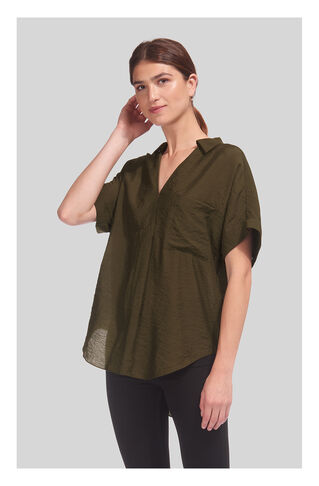 Lea Shirt, in Khaki on Whistles