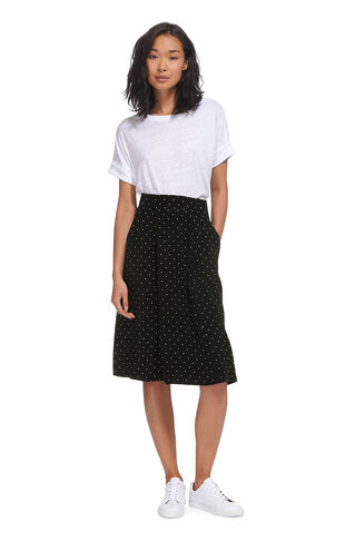 Spot Casual Pocket Skirt, in Navy/Multi on Whistles