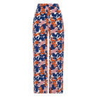 Damson Print Cropped Trouser, in Multicolour on Whistles