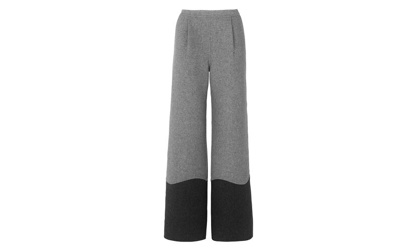 Manning Colour Block Trouser, in Grey/Multi on Whistles